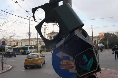 Λειτουργούν τα φανάρια στο κέντρο της Αθήνας