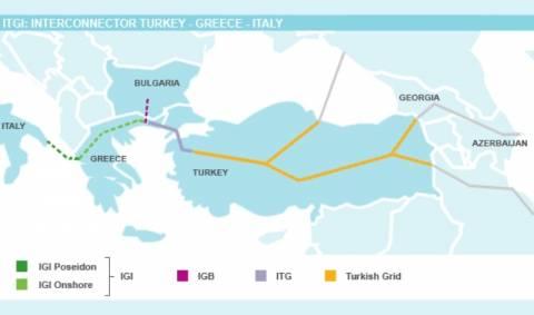 Αποκλείστηκε ο αγωγός Τουρκίας-Ελλάδας-Ιταλίας
