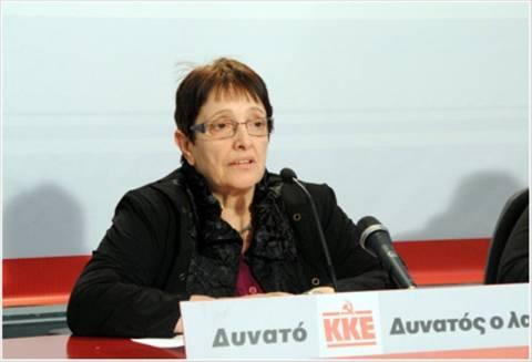 Παπαρήγα: Κόλαση οι αποφάσεις των Βρυξελλών