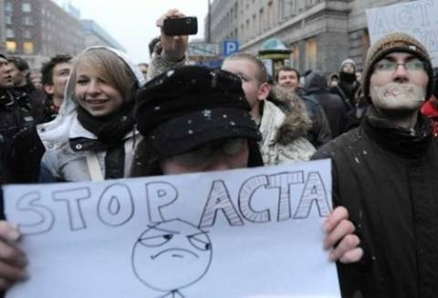 Η Κομισιόν παρέπεμψε την ACTA στο Ευρωπαϊκό Δικαστήριο