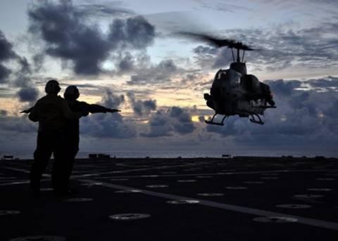 Σύγκρουση στρατιωτικών ελικοπτέρων στις ΗΠΑ