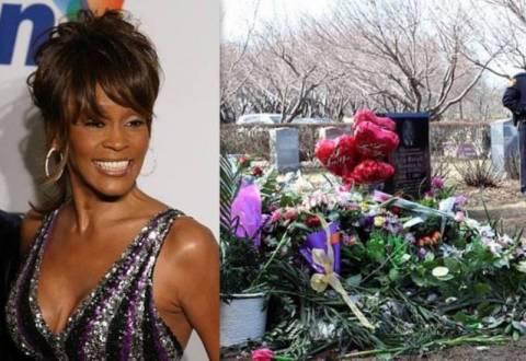 Ένοπλοι φρουροί στον τάφο της Whitney Houston