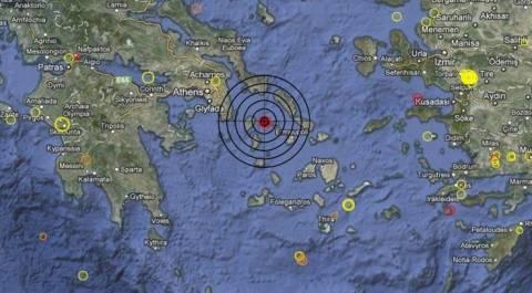 Σεισμός 3,5 Ρίχτερ στην Κέα