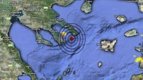 Σεισμός 3,4 Ρίχτερ νότια του Αγίου Όρους