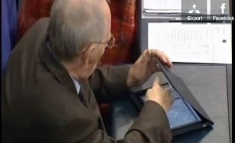 Ζήτησαν να αποσυρθούν οι εικόνες με τον Σόιμπλε να παίζει Sudoku!
