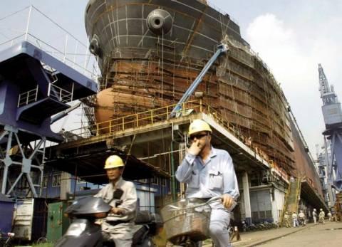 Επιχειρηματική διαμάχη στην Άπω Ανατολή για τις ναυπηγήσεις πλοίων