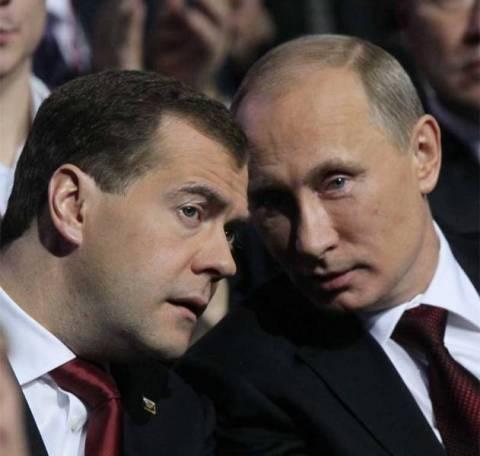 Πούτιν: Πρωθυπουργός μου θα είναι ο Μεντβέντεφ