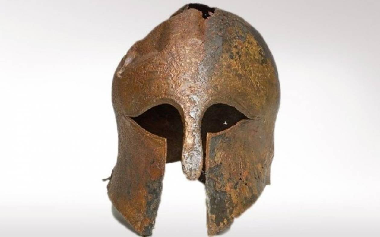Μυστήριο με 2.600 ετών κράνος Έλληνα πολεμιστή!