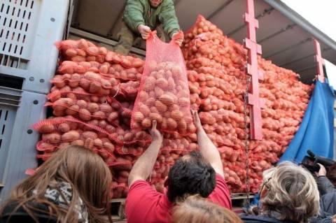 ΚΚΕ: Προπαγάνδα κι εξαπάτηση το «κίνημα της πατάτας»