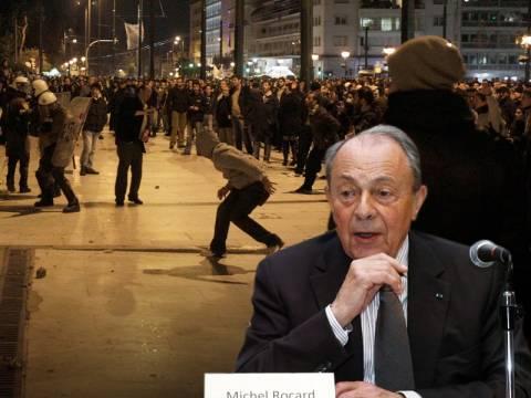 Μ. Ροκάρ: Στην Ελλάδα θα γίνει στρατιωτικό πραξικόπημα