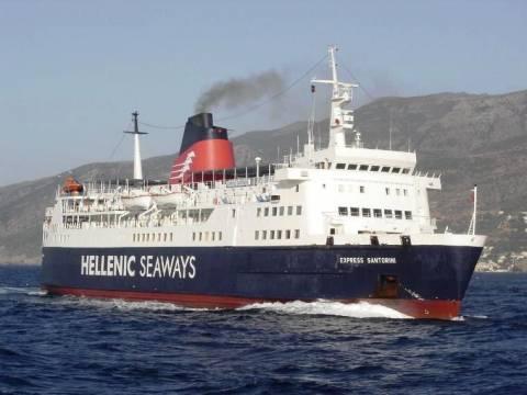 Χωρίς οχηματαγωγό πλοίο οι Β. Σποράδες