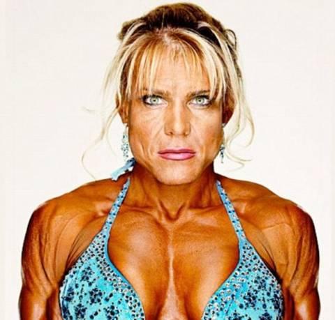 Η θηλυκή πλευρά του body building…