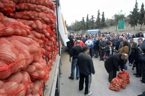 Και η ΝΔ χαιρετίζει το «κίνημα της πατάτας»