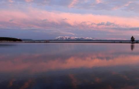 Οι ήχοι της λίμνης Yellowstone