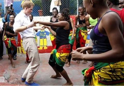 Τρελοί χοροί για τον πρίγκιπα Χάρι