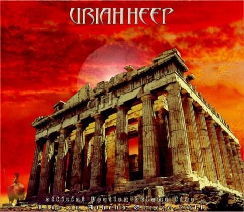 Το νέο άλμπουμ των URIAH HEEP με φόντο την Ακρόπολη!