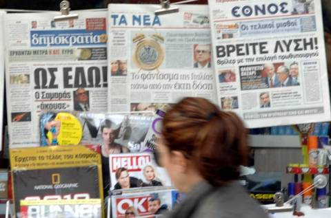 Το «κούρεμα» και οι εκλογές στα πρωτοσέλιδα