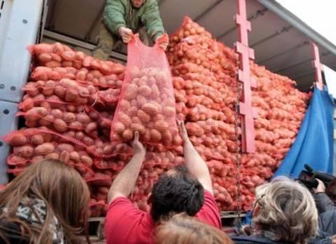 Συνεχίζει με επιτυχία το «κίνημα της πατάτας» στη Λάρισα
