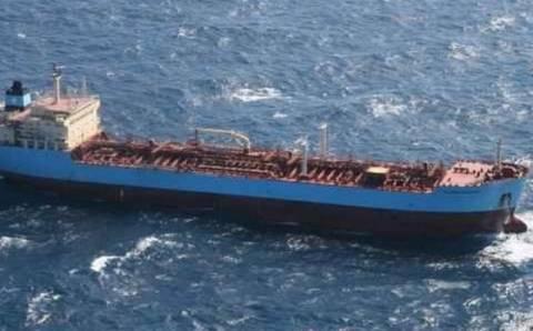 Ακυβέρνητο πλοίο βορειοδυτικά της Δονούσας