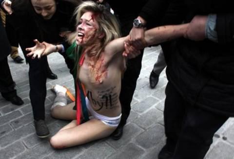 Την τουρκική αστυνομία καταγγέλλουν οι Ουκρανές FEMEN