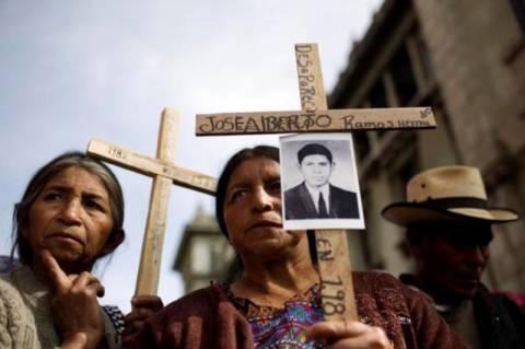 Κάθειρξη 6.060 ετών σε πρώην στρατιωτικό της Γουατεμάλας