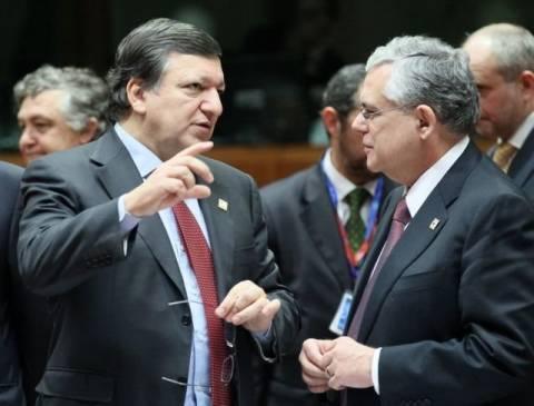 Μπαρόζο: «Η Ελλάδα θα μπει στο δρόμο της ανάπτυξης»