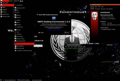 Οι Anonymous μπαίνουν δυναμικά στα λειτουργικά συστήματα