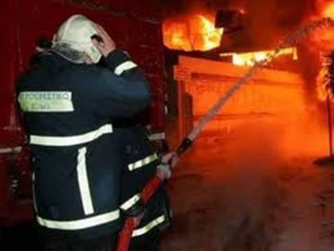 Πυρκαγιά σε βιοτεχνία χαρτικών