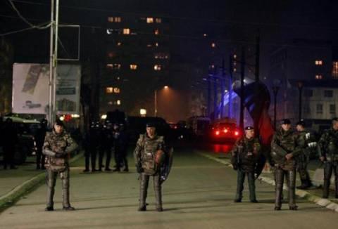 Βόμβα μολότοφ στην πρεσβεία των Σκοπίων στο Κόσοβο