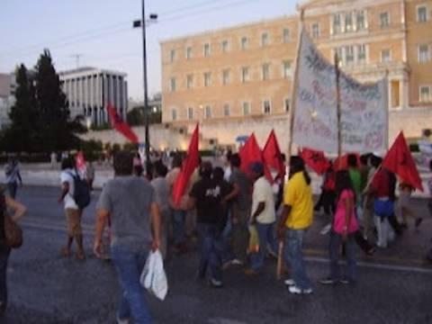 Ολοκληρώθηκε η αντιρατσιστική διαδήλωση