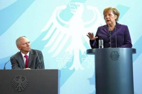 Η Μέρκελ δείχνει Σόιμπλε για πρόεδρο του Eurogroup
