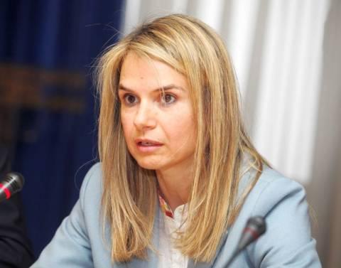 Ψήφισε και η Μιλένα Αποστολάκη