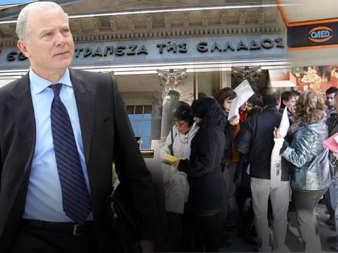 Εκτιμήσεις – σοκ της Τράπεζας της Ελλάδος για ύφεση και ανεργία!