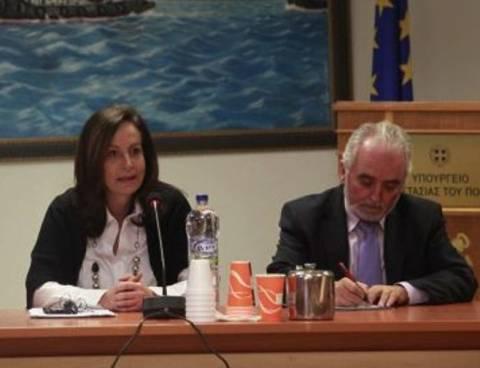 Αν. Διαμαντοπούλου: Θα συνεχιστεί ο διάλογος με τους ναυτεργάτες