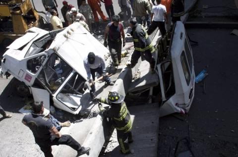 Τραυματίες και υλικές ζημιές από το σεισμό στο Μεξικό