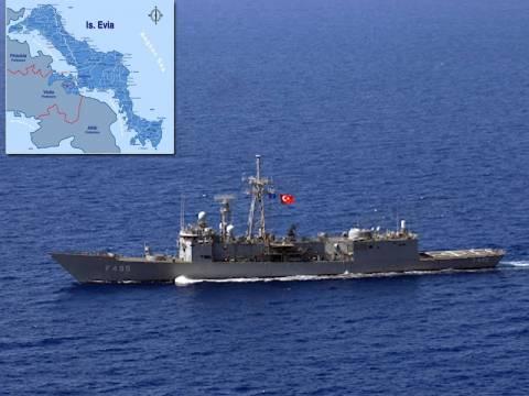 Τουρκική φρεγάτα «βολτάρει» στις ακτές της Αττικής!