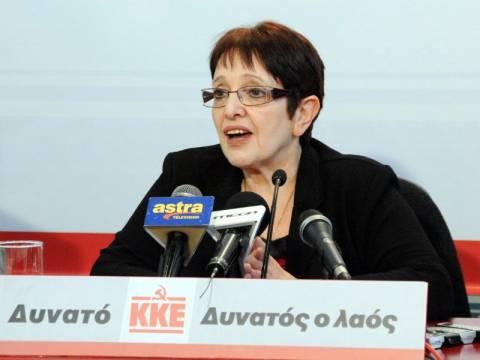 Η Αλέκα Παπαρήγα για το δίλημμα των εκλογών