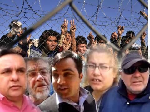«Όχι» στα στρατόπεδα υποδοχής λαθρομεταναστών
