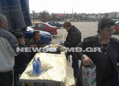 Ο δήμος Ραφήνας «σέρβιρε» πατάτες και λάδι
