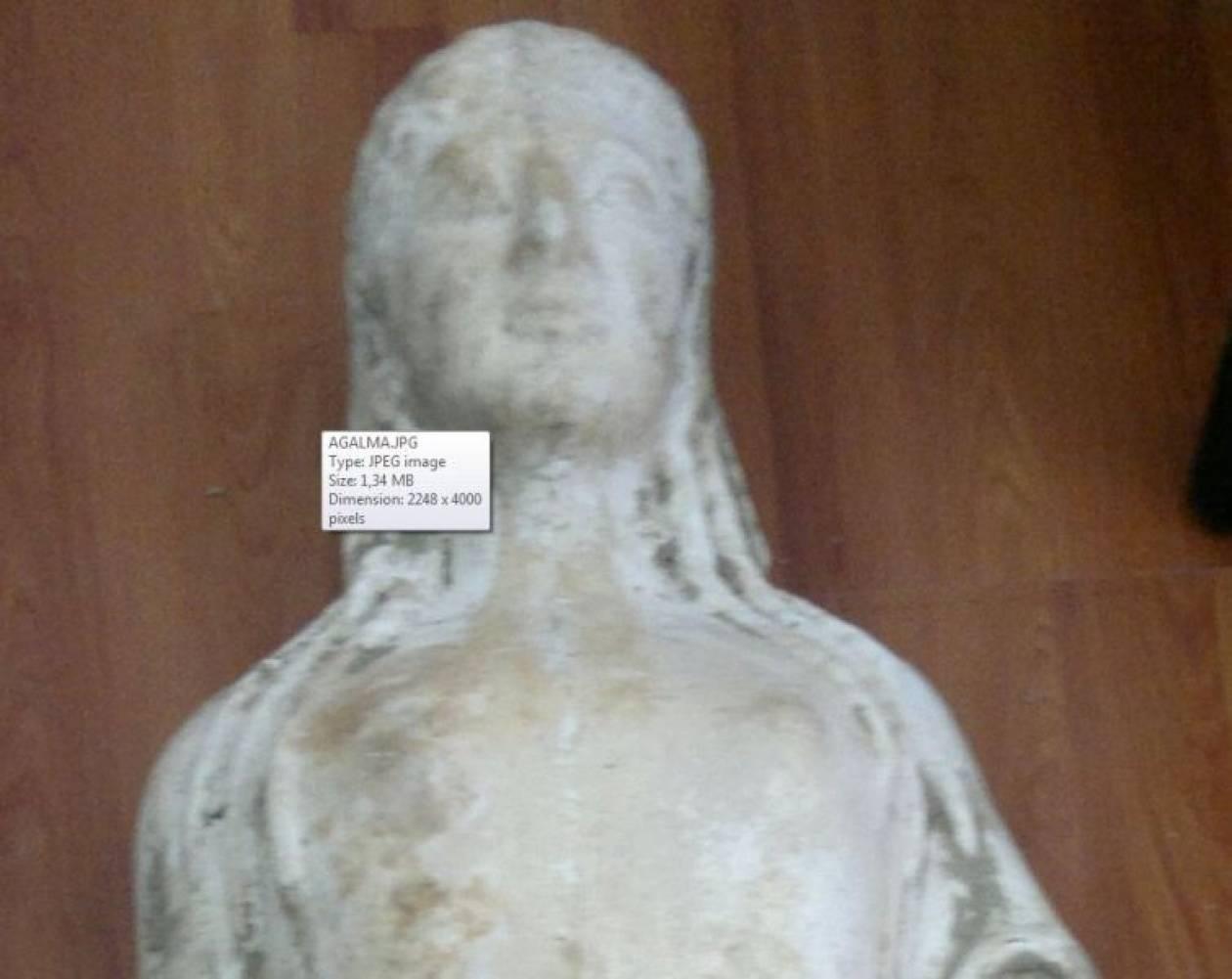 12 εκατ. ευρώ η αξία του κλεμμένου αγάλματος