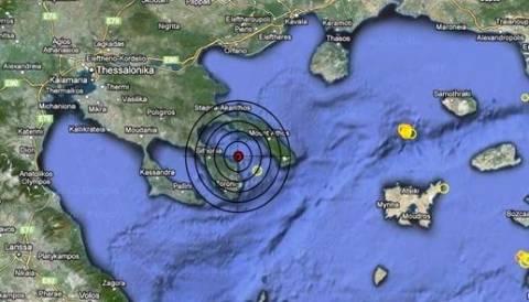 Σεισμός 3,3 Ρίχτερ στον Σιγγιτικό κόλπο