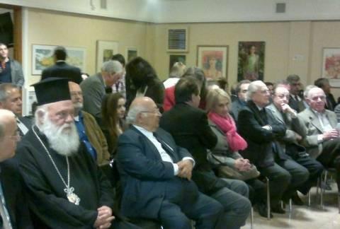 Η Άννα Νταλάρα σε εκδήλωση Ένωσης Κυπρίων
