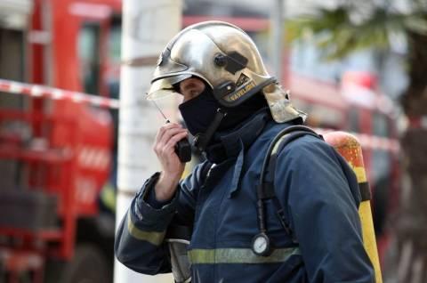 Πυρκαγιά σε βαγόνι του ΟΣΕ