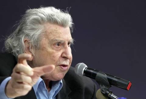 Μ. Θεοδωράκης: Ψηφίστε «αντιμνημονιακές» δυνάμεις
