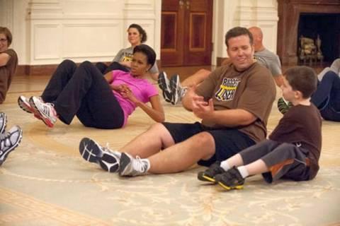 Στο Λευκό Οίκο ριάλιτι κατά της παχυσαρκίας