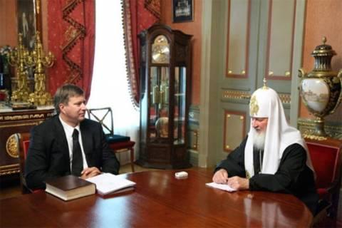 Σκάνδαλο με φωτογραφία του πατριάρχη στη Ρωσία