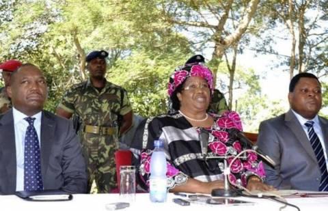 Ορκίστηκε η πρώτη γυναίκα πρόεδρος του Μαλάουι