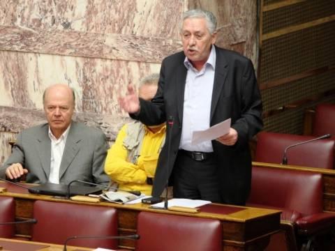 Ο Κουβέλης απέρριψε την πρόταση Τσίπρα για τις μονοεδρικές
