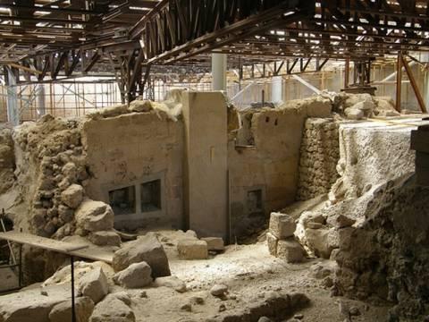 Ανοίγει τις πύλες του ο αρχαιολογικός χώρος του Ακρωτηρίου Σαντορίνης