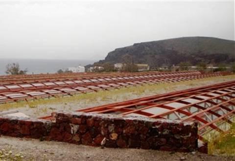 Εγκαινιάστηκε ο αρχαιολογικός χώρος του Ακρωτηρίου στη Σαντορίνη